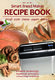 Recipe book bread maker